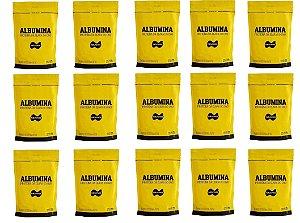 15x Albumina 500g Naturovos 7,5kg - Sabores