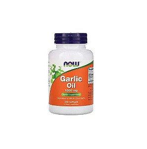 Garlic Oil Now Foods - Óleo De Alho 1500mg - 250 Softgels