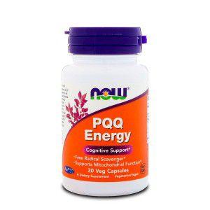 Pqq Energy Pirroloquinolina Quinone (20mg) 30caps Now Foods