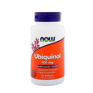 Ubiquinol Kaneca Now Foods 100mg 60 Softgels