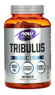 Tribulus Terrestris 1000mg 180 Cps Now Foods Saúde Sexua