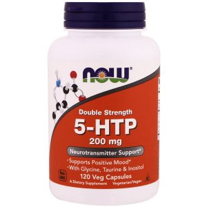 5 Htp 200mg 120 Cap - Now Foods