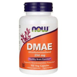 Dmae 250mg 100 Caps Now Foods Importado