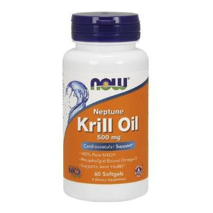 Neptune Krill Oil Now Foods 500mg 60 Cápsulas Softgels