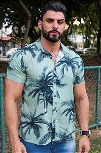 Camisa viscose coqueiro