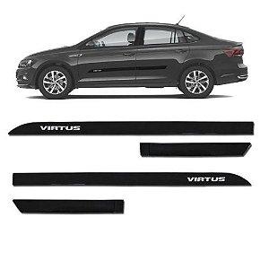Kit Friso Lateral Sean Car Virtus Preto Ninja 2018 a 2021