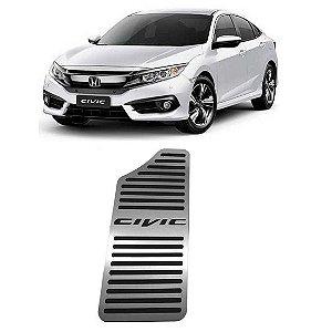 Descanso De Pé Honda Civic 2017 a 2021 Aço Inox GPI