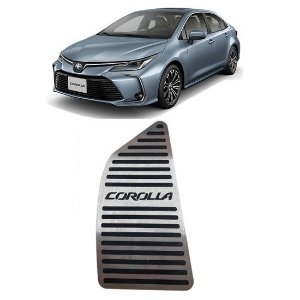 Descanso De Pé Toyota Corolla 2020 a 2021 Aço Inox GPI