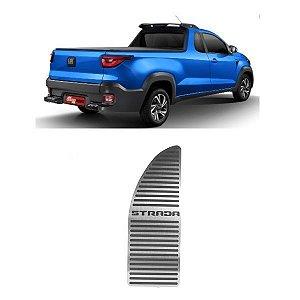 Descanso De Pé Fiat Strada 2020 2021 Aço Inox GPI