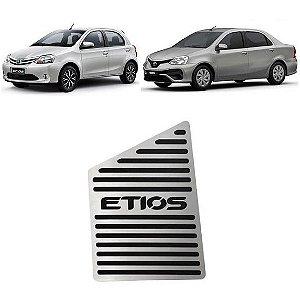 Descanso De Pé Toyota Etios 2013 a 2020 Aço Inox GPI