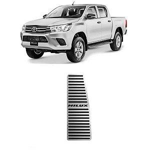 Descanso De Pé Toyota Hilux 2016 a 2021 Aço Inox GPI