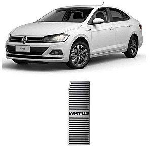 Descanso De Pé VW Virtus 2018 a 2021 Aço Inox GPI