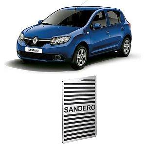 Descanso De Pé Renault Sandero 2014 a 2020 Aço Inox GPI