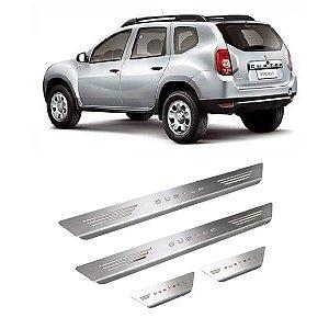 Soleira de Porta Renault Duster 2013 a 2021 Inox Escovado GPI