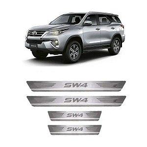 Soleira de Porta Toyota SW4 2005 a 2021 Inox Escovado GPI