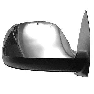 Capa de Retrovisor ShekParts Volkswagen Amarok 2010 a 2019 Direito Cromado