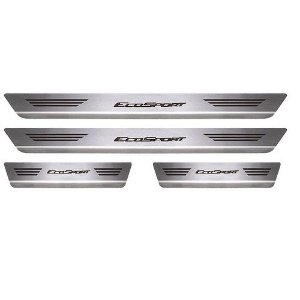 Soleira Porta Ford Ecosport Aço Inox Escovado Mult