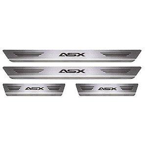 Soleira Porta Mitsubishi ASX Mult Inox Escovado