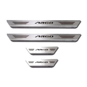 Soleira Porta Fiat Argo Mult Inox Escovado