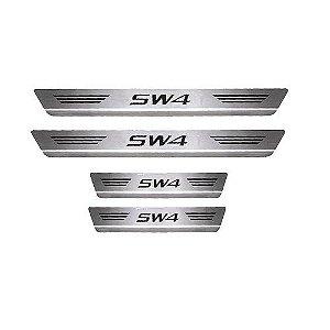 Soleira Porta Toyota SW4 Mult Inox Escovado