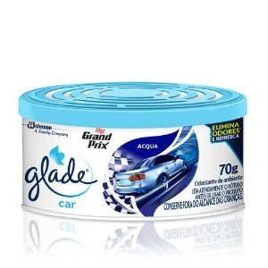 Aromatizante Para Carros Glade Car Acqua 70g