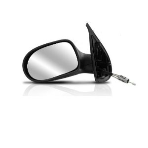 Retrovisor SPJ Fiat Palio 2011 a 2017 Attractive 2 Portas Esquerdo com Controle