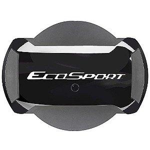Capa de Estepe Marçon Fibra EcoSport 2013 a 2018 Preto Ebony