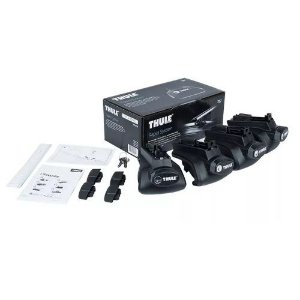 Kit Suporte Rack Thule 757 Barras Laterais Rapid System