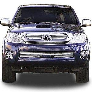 Sobre Grade Gtnox Toyota Hilux 2009 a 2011 sem Overbumper Inox Cromada