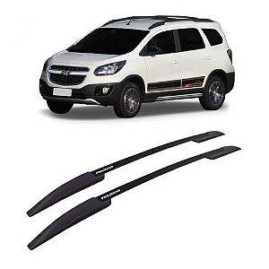 Longarina de Teto Projecar Chevrolet Spin 2012 a 2019 Preto