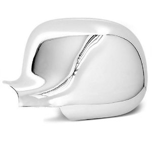 Capa de Retrovisor ShekParts S10 Blazer Silverado Esquerdo Cromado