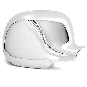 Capa de Retrovisor ShekParts S10 Blazer Silverado Direito Cromado
