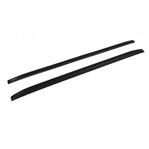 Longarina de Teto Decorativa Universal TG Poli 1.35m Slim Preto Par