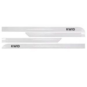 Kit Friso Lateral Sean Car Renault Kwid Branco Neige