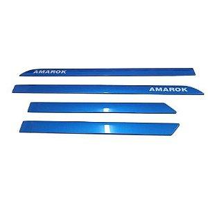 Kit Friso Lateral Sean Car Amarok Dupla Azul Ravenna