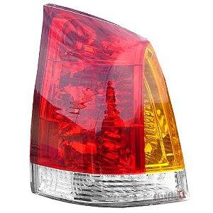 Lanterna Traseira Cofran Palio 2004 a 2006 Tricolor Esquerdo
