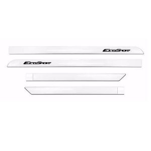 Kit Friso Lateral Slim Flash Ford Ecosport Branco Artico