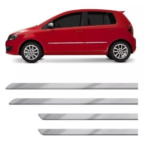 Kit Friso Lateral Flash Volkswagen Fox 2011 a 2014 Cromado