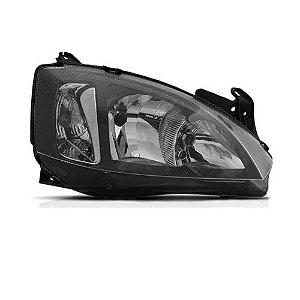 Farol Corsa 2008 a 2012 Direito Mascara Negra Automotive Imports