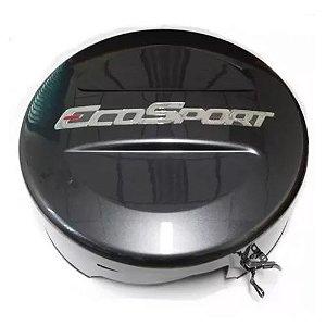 Capa de Estepe Tiger Fibra EcoSport 2013 a 2018 Cinza Moscou