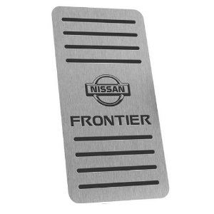 Descanso De Pé Aço Inox Nissan Frontier 2008 a 2016