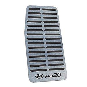 Descanso De Pé Aço Inox Hyundai HB20 2012 a 2019