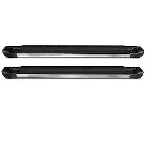 Estribo Lateral C&K Volkswagen Amarok Cabine Simples 2010 a 2020 Preto Fosco
