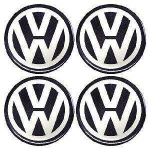 Emblema de Calota Volkswagen 48 mm Resina URA