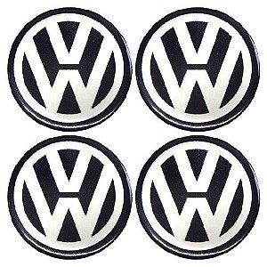 Emblema de Calota Volkswagen 48 mm Papel URA
