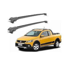 Travessa Caçamba Projecar Volkswagen Saveiro Cross 2010 a 2017 Preta