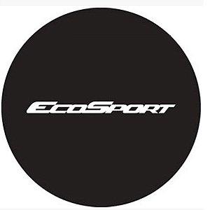 Capa de Estepe Comix Ecosport 2003 a 2019 Preto Básico