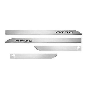 Kit Friso Lateral Sean Car Argo 2018 a 2020 Prata Bari