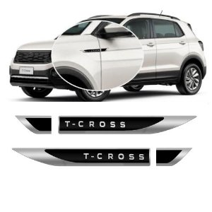 Emblema Porta Lateral T-Cross 2019 a 2020 URA