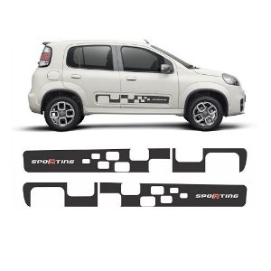 Faixa Decorativa Uno Sporting 2011 a 2014 Decal Line